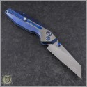 (#WM-BAN-Ti-01) Will Moon Banshee Blue Ti Wharncliffe Satin - Back