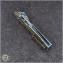 (#WM-BAN-Ti-02) Will Moon Banshee Ti Drop Point Gloss Stonewash - Additional View
