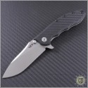 (#ZT0562CF) Zero Tolerance 0562 CF Hinderer Slicer Satin Plain - Front