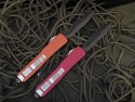 Microtech Ultratech - Colored Handles - Rare Item - Back